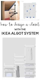 Closet Ideas One Room Challenge Week 3 Designing The Ikea Algot Closet System