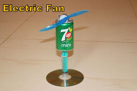 how to make a fan how to make small electric fan 4 steps with pictures