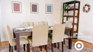 festive dining room makeover i target u0027s threshold line for home