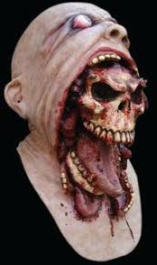Scary Scary Halloween Costumes Egyptian Zombie Rotting Flesh Mummy Scary Halloween Mask