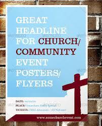 32 best church flyer templates wakaboom