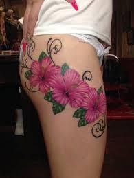 Leopard Print Flower Tattoos - colorful leopard print flower tattoo design flower tattoo