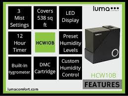 Luma Comfort Humidifier Top 5 Best Dual Mist Humidifiers Comparison Indoorbreathing