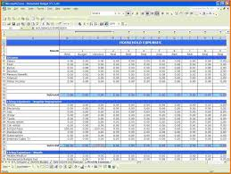 Spreadsheet Template For Budget 5 Excel Template Budget Expense Report