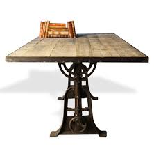 Reclaimed Round Dining Table by Dining Room Adjustable Dining Table Home Interior Design