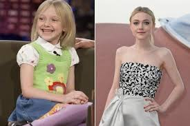 what is dakota fanning doing now dakota fanning then and now awkward celebs who grew up to be