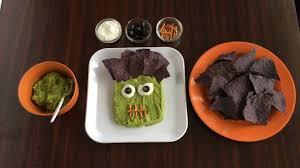 frankenstein guacamole for halloween youtube