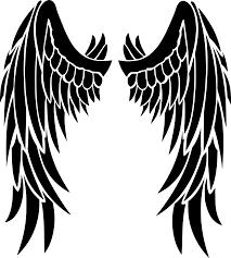 unique dark angel clipart file free