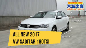 all new 2017 vw sagitar 180tsi interior and exterior youtube