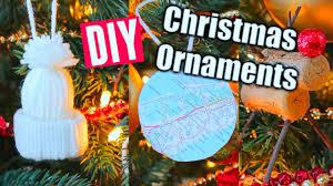 diy easy christmas ornaments super cheap youtube