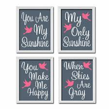 You Are My Sunshine Wall Decor Shop You Are My Sunshine Poster On Wanelo