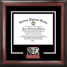 of alabama diploma frame of alabama spirit diploma frame dsci al993sd