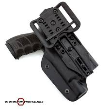 duty holsters with light blade tech hk p30 wrs level 2 duty d os asr holster with tac light