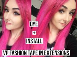 vp extensions flamingo ombre vp fashion in extensions dye and install