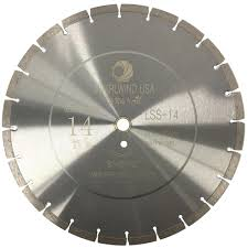 whirlwind usa 14 in 24 teeth segmented diamond blade for dry or