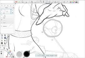 makeup artist sketchbook creating crisp smooth line ian o neill sketchbook