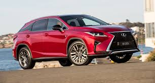 lexus rx hybrid australia turbocharged lexus rx models receive new sports variants
