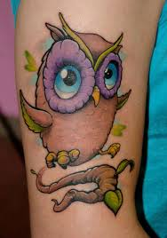cute owl tattoos owl tattoos are very popular here are the cutest
