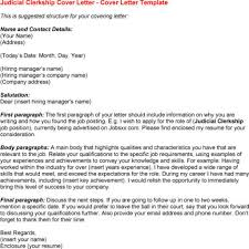 sample judicial clerkship cover letter gallery letter samples format