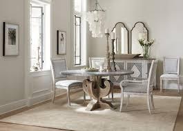 hooker furniture dining room boheme ascension 60in zinc round hooker furniture boheme ascension 60in zinc round dining table 5750 75213 slv