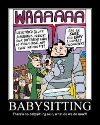 Babysitting Meme - babysitting meme guy