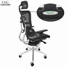 Computer Swivel Chair by Ancheer Modern Adjustable Mesh Executive Office Computer Desk
