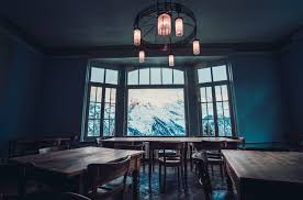 free images house window restaurant home property blue