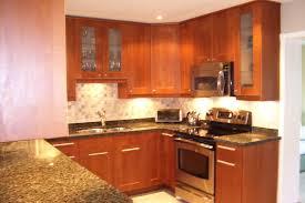 Medium Brown Kitchen Cabinets by Ikea Kitchens Adel Medium Brown