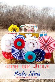 4th of july party ideas vintage americana picnic u0026 bbq