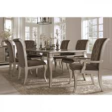 7 Pc Dining Room Sets Badcock More Birlanny Silver 7 Pc Dining Room