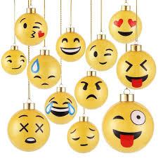amazon com decora cyber monday deals 12 pieces glass emoji