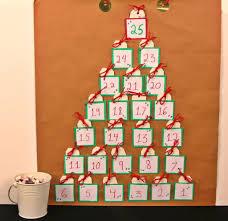 homemade advent calendar kraft paper u0026 candy