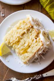 Homemade Coconut Cake by