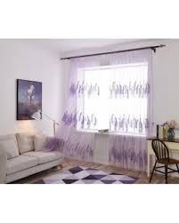 Lavender Window Curtains Slash Prices On 1pair 100 250cm Purple Lavender Living Room
