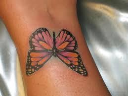butterfly wrist tattoos meanings