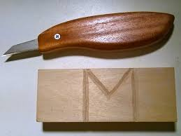 the wood knack making a wood carving or marking knife with