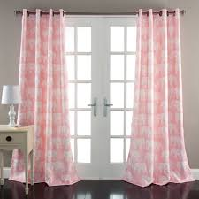 Curtains Set Elephant Parade Window Curtains Set Walmart