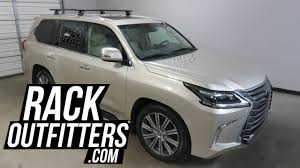 lexus nx bike rack 2016 2017 lexus lx570 with thule rapid podium aeroblade roof rack