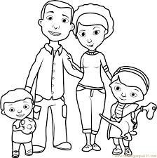 doc mcstuffins family coloring free doc mcstuffins coloring