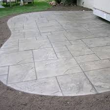 Backyard Concrete Ideas Innovative Cement Patio Designs 17 Best Ideas About Stamped