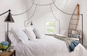 Italian Canopy Bed | italian caign canopy bed cottage bedroom jenny wolf interiors