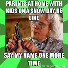 Snow Day Meme - snow day thersdays