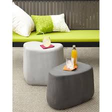 large stone stool crate and barrel faux stone stools and crates