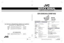 download free pdf for jvc gr sxm340u camcorders manual