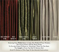 Blackout French Door Curtains Door Curtains And French Door Curtains Custom Made In Any Size