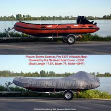 inflatable boat cover e series for beam 6 6 7 4ft 4 sizes fit 15