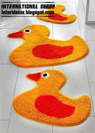 Yellow Duck Bath Rug 10 Modern Bathroom Rug Sets Baths Rug Sets Models Colors