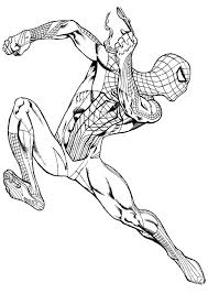 free printable spiderman images coloring pages coloring kids
