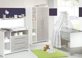 photo chambre bebe chambre bébé lit commode eco silber schardt lit et commode bébé