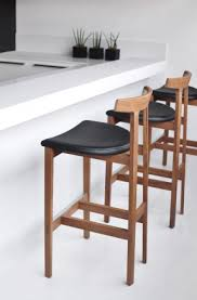 wood and leather bar stools foter